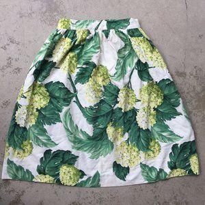 Spring Green Hydrangea Skirt